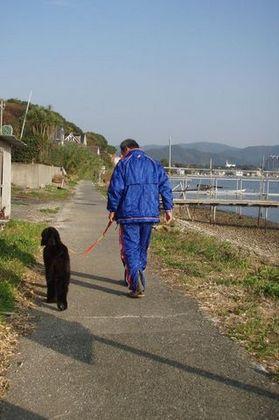 朝日の中をお散歩浜名湖.jpgのサムネール画像